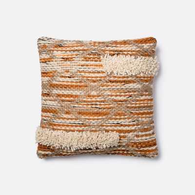 PILLOWS - ORANGE / IVORY - Loma Threads