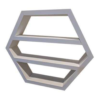 Lavin Hexagon Wall Shelf - Wayfair
