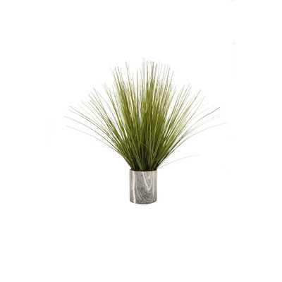 Faux Grass Pot - Home Depot