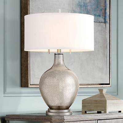 "Possini Euro 28 1/2"" High Louie Mercury Glass Table Lamp - eBay"