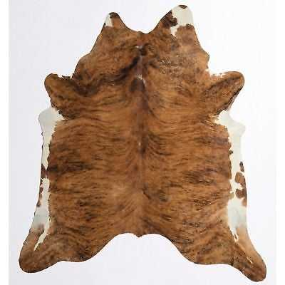 "Nash Cowhide Rug Medium Dark - 5'x6'6"" - eBay"