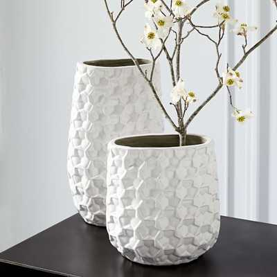 3D Eyelet Vases - Small - West Elm