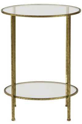 Bella Glass End Table - Home Decorators