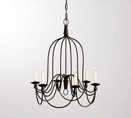 Armonk 6-Arm Indoor/Outdoor Chandelier - Pottery Barn