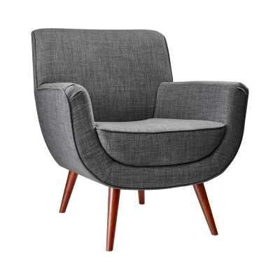 Scoop Chair - Charcoal - Dot & Bo