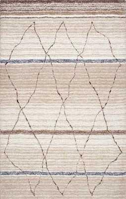 "Hand Tufted Moroccan Arica Shag Rug - 8' 6"" x 11' 6"" - Loom 23"