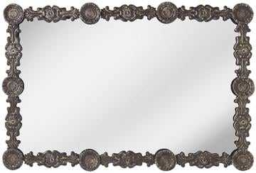 STAMPED FLORAL WALL MIRROR - Home Decorators