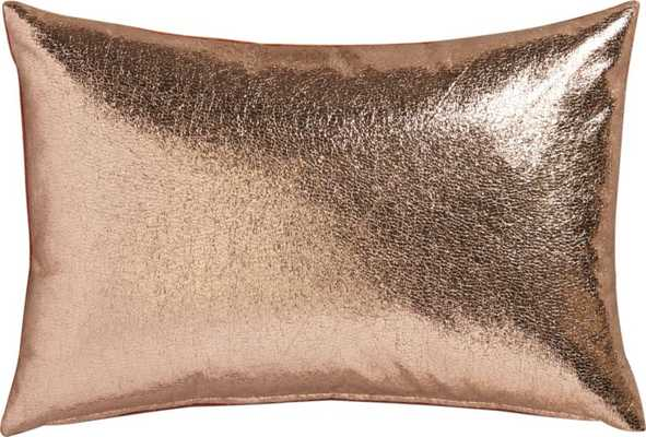 Rove pillow with down - alternative insert - CB2