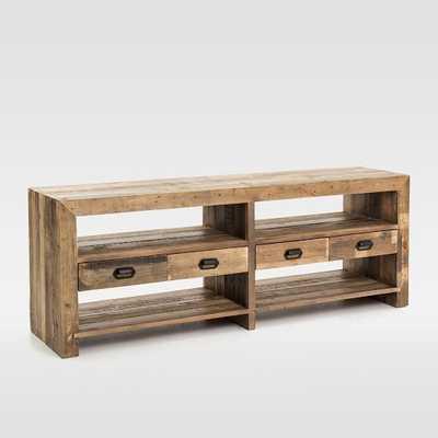 """Emmersonâ""""¢ Reclaimed Wood 4-Drawer Media Stand - West Elm"""