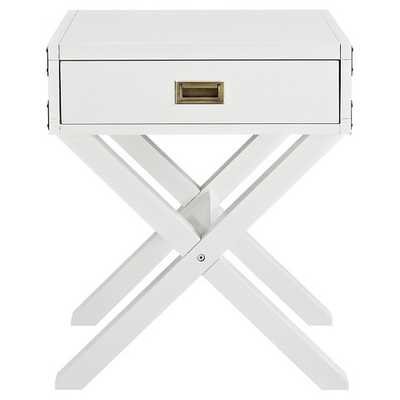 Baby Relax Miles Campaign Nightstand - White - Target
