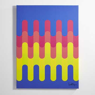 meltdown print - No Frame - CB2
