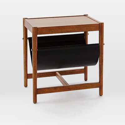 Leather Sling Side Table - Acorn - West Elm