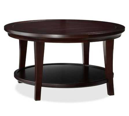 Metropolitan Round Coffee Table - Pottery Barn