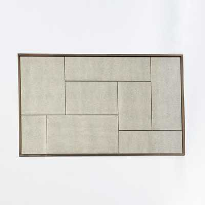 Multi-Panel Foxed Large Mirror - West Elm