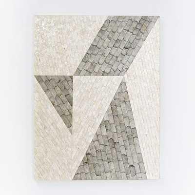"""Capiz Wall Art - Angle- 32""""w x 42""""h - Unframed-No mat - West Elm"""