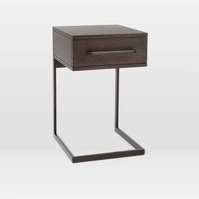 Nash C-Base Nightstand – Mineral - West Elm