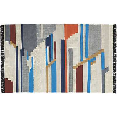 Building blocks rug - 5 x 8 - CB2