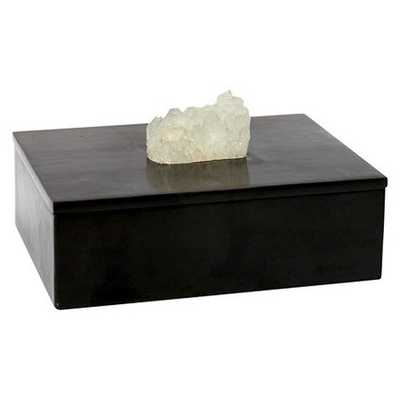 Decorative Box with Agate Stone - Target