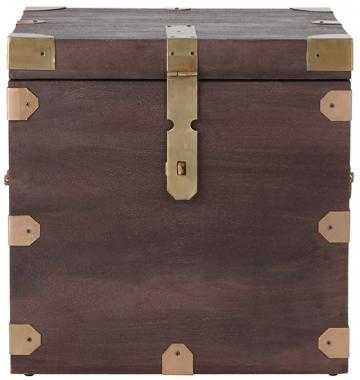 Langston Trunk End Table - Home Depot