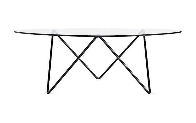 Pedrera Coffee Table-Black - Design Within Reach