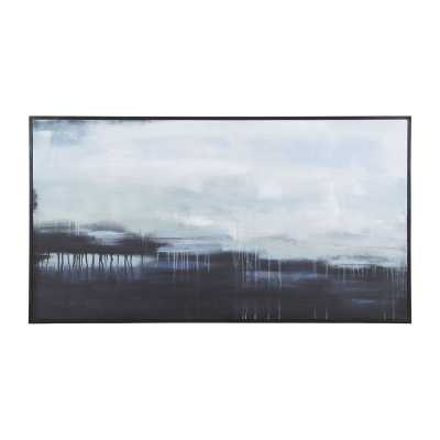 Dark Strand - 64x34 Framed - Rosen Studio