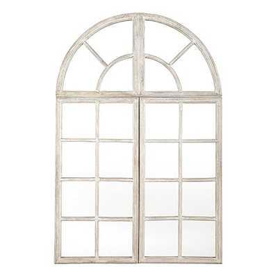 Grand Chateau Arch Piece of Mirror - Ballard Designs