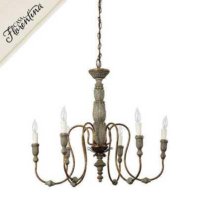 Casa Florentina Verona Chandelier - Ballard Designs