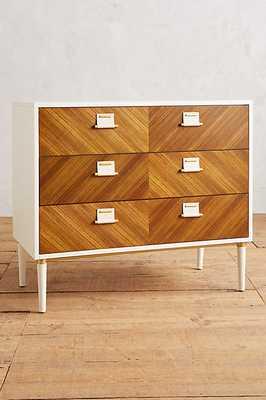 Geo-Marquetry Three-Drawer Dresser - Anthropologie