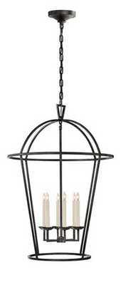 Darlana large round lantern - Circa Lighting