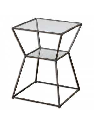 Tristyn Side Table - Iron - Lulu and Georgia