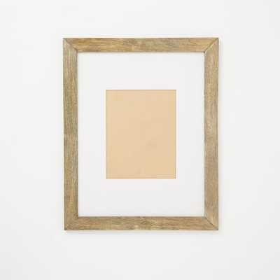 "Gallery Frames - Weathered Wood - 16.5"" x 20.5"" - West Elm"