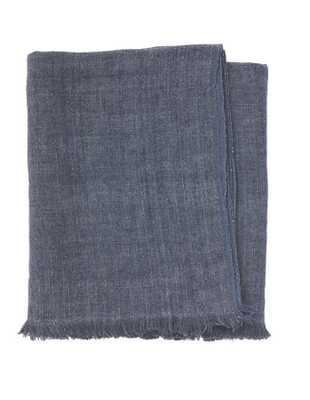 Linen Throw Indigo - Domino