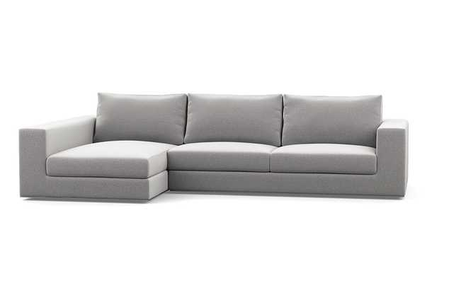 WALTERS FABRIC SOFA WITH LEFT CHAISE - Interior Define