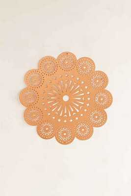 Hanging Metal Medallion Wall Decor - Copper - Urban Outfitters