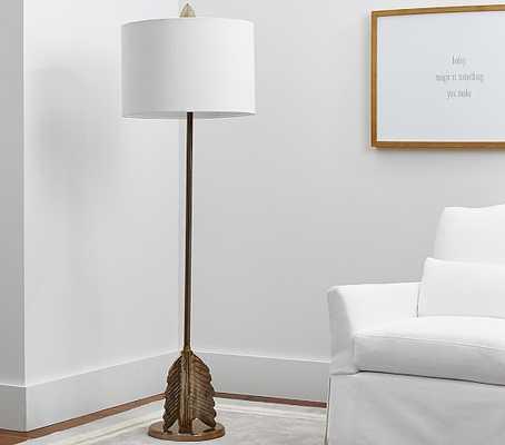 Emily & Meritt Arrow Natural Complete Floor Lamp - Pottery Barn Kids
