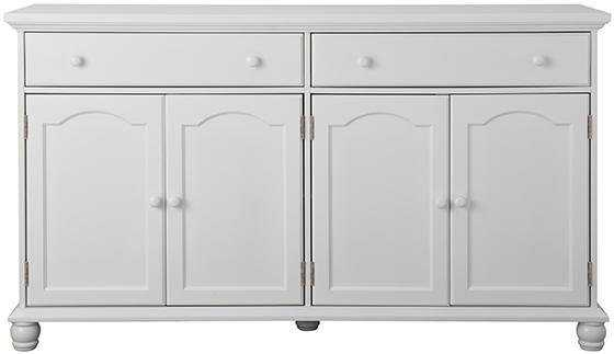 Harwick 4+2 Buffet - Antique White - Home Depot
