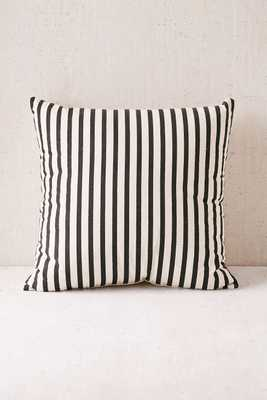Medford Printed Stripe Pillow - 18x18 - Poly Insert - Urban Outfitters