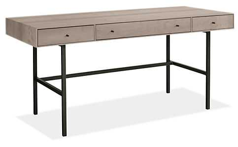 Hudson 66w 28d 30h Desk - Maple with shell stain - Room & Board
