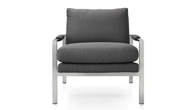 Milo Chair - Slate - Crate and Barrel