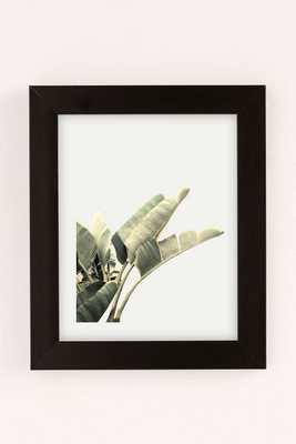 "Wilder California Beverly Hills Banana Tree Art Print - 30"" x 40"" - Black Matte Frame - Urban Outfitters"
