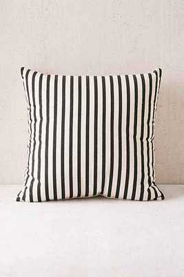 """Medford Printed Stripe Pillow - 18""""L x 18""""W - insert - Urban Outfitters"""