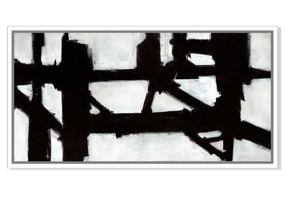 "Ilana Greenberg, Out of the Box - 40""W x 20""H - White Frame - One Kings Lane"