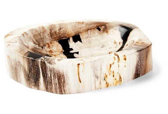 Small Petrified-Wood Bowl, Natural - One Kings Lane