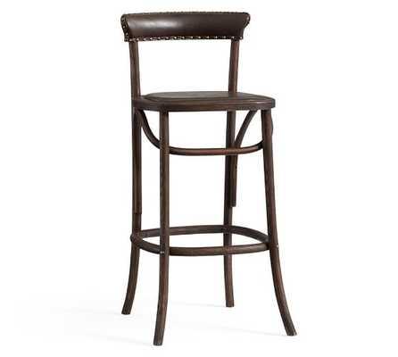 Lucas Barstool - Bar height - Brown - Pottery Barn