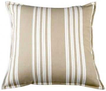 "LOMBARD PILLOW, BEIGE/WHITE - 18""x18"" - Home Decorators"