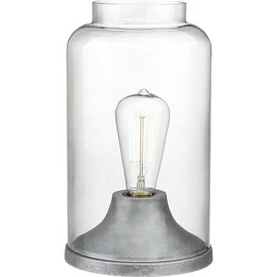 Cloche table lamp - CB2