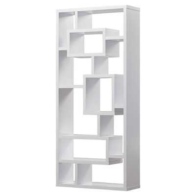 "Cleisthenes 71"" Bradshaw Unique Bookcase - Wayfair"