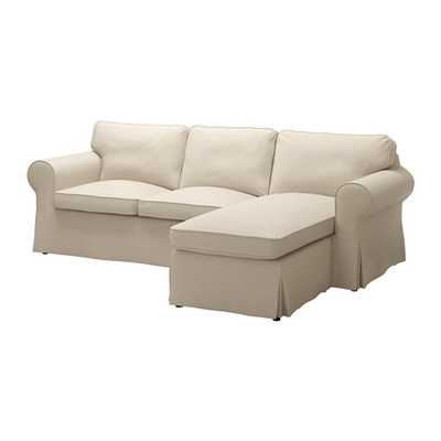 EKTORP Loveseat and chaise - Ikea