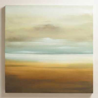 """Scape"" by K.C. Haxton - 36""Sq. - Unframed without mat - World Market/Cost Plus"