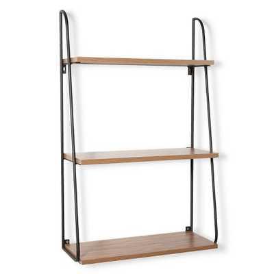 Threshold 3 Tier Wood Wall Shelf - Target